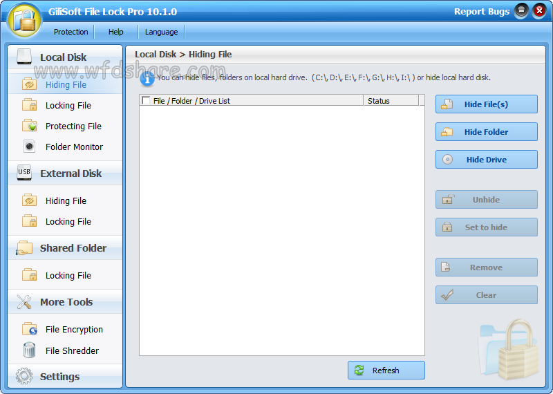 gratis download full version Gilisoft File Lock Pro