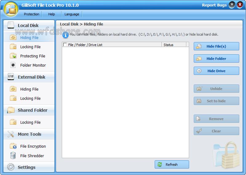 gratis download full version Gilisoft File Lock Pro