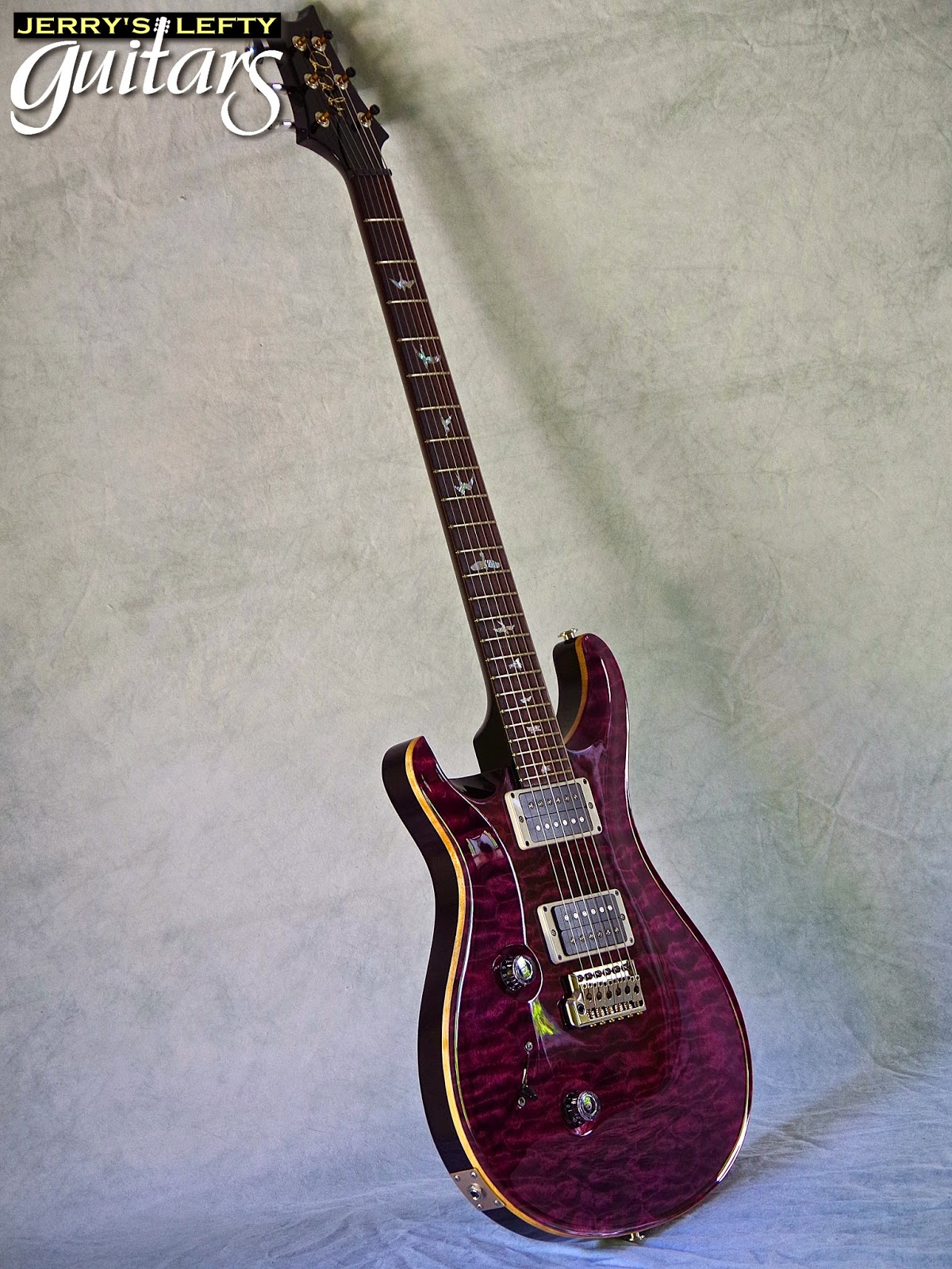 jerry 39 s lefty guitars newest guitar arrivals updated weekly used prs custom 24 10 top left. Black Bedroom Furniture Sets. Home Design Ideas