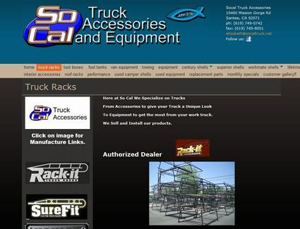 Rack-it Truck Racks: SoCal Truck Accessories and ...