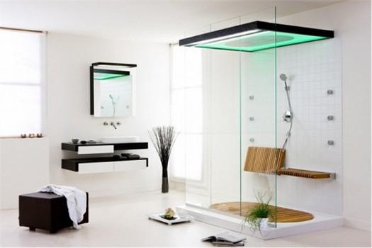 افكار لتصميم ديكورات حمامات بسيطة