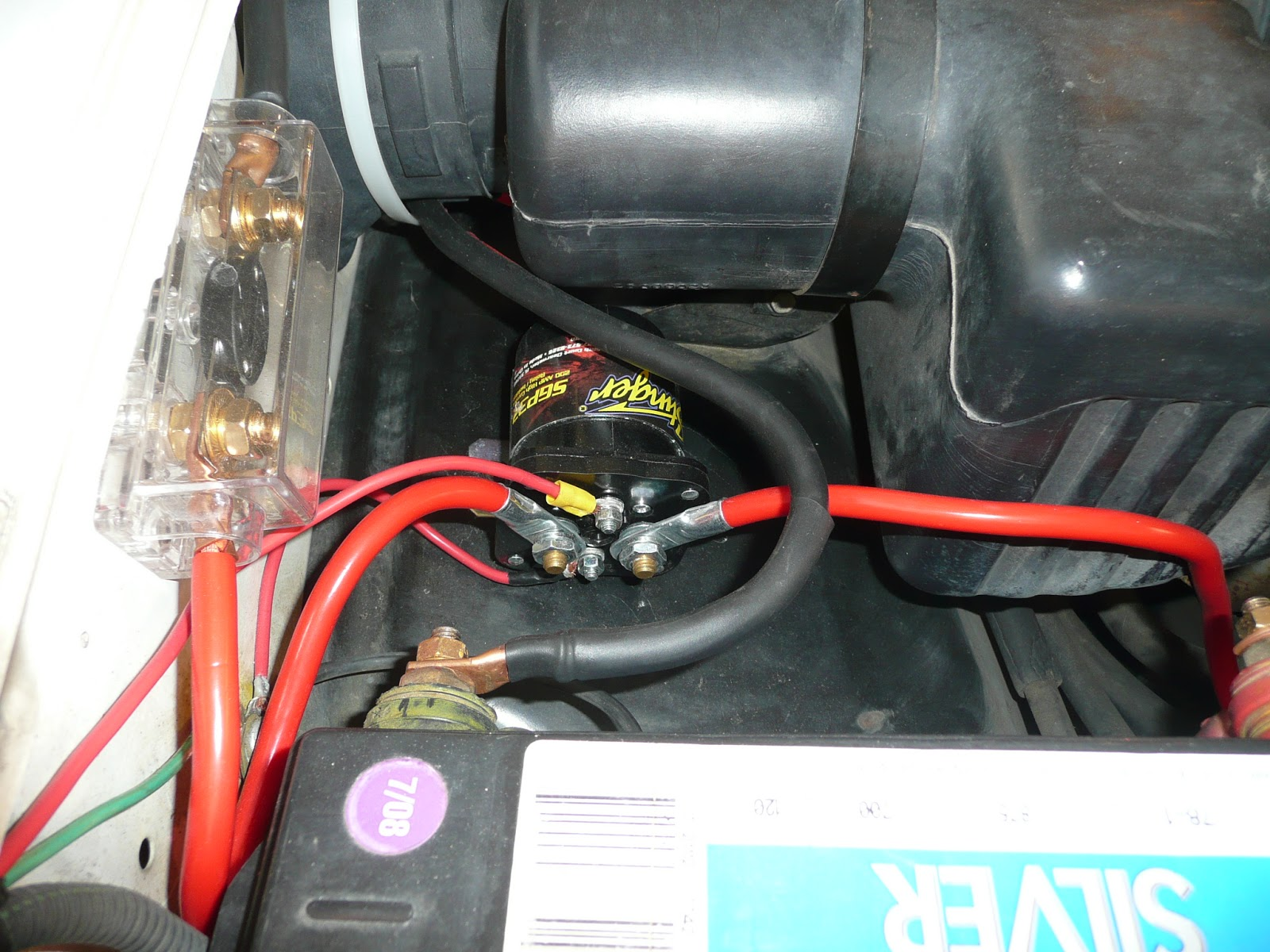 Battery Isolator Switch Wiring Diagram On Dual Car Battery Wiring