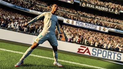 Ronaldo fifa 18 cover