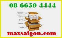 Hàng hóa được đóng xốp và bìa catton cẩn thân khi vận chuyển