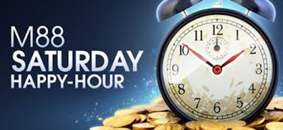 m88 - saturday happy hour - freebet poker - situs poker terpercaya