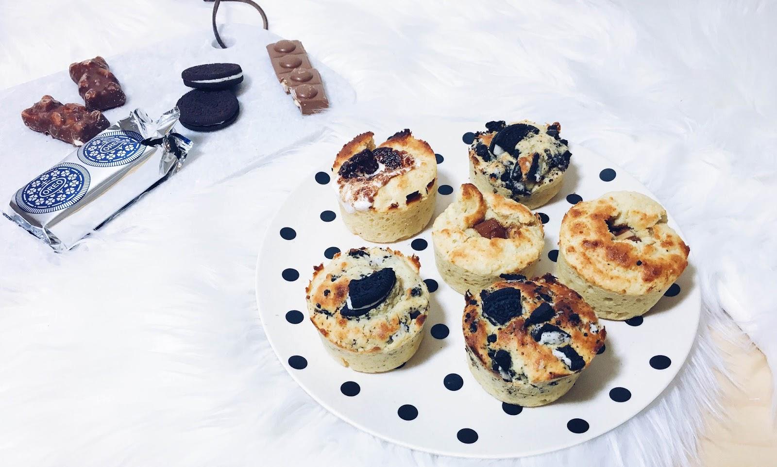 Garniture muffins