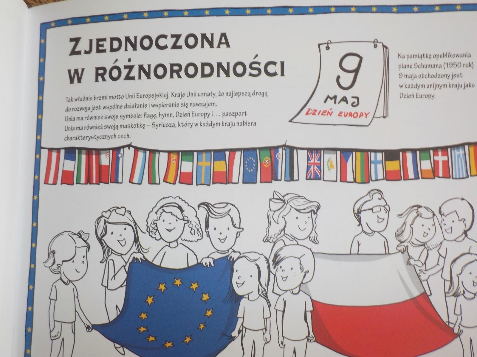 Unia Europejska Do Kolorowania Wydawnictwo Olesiejuk