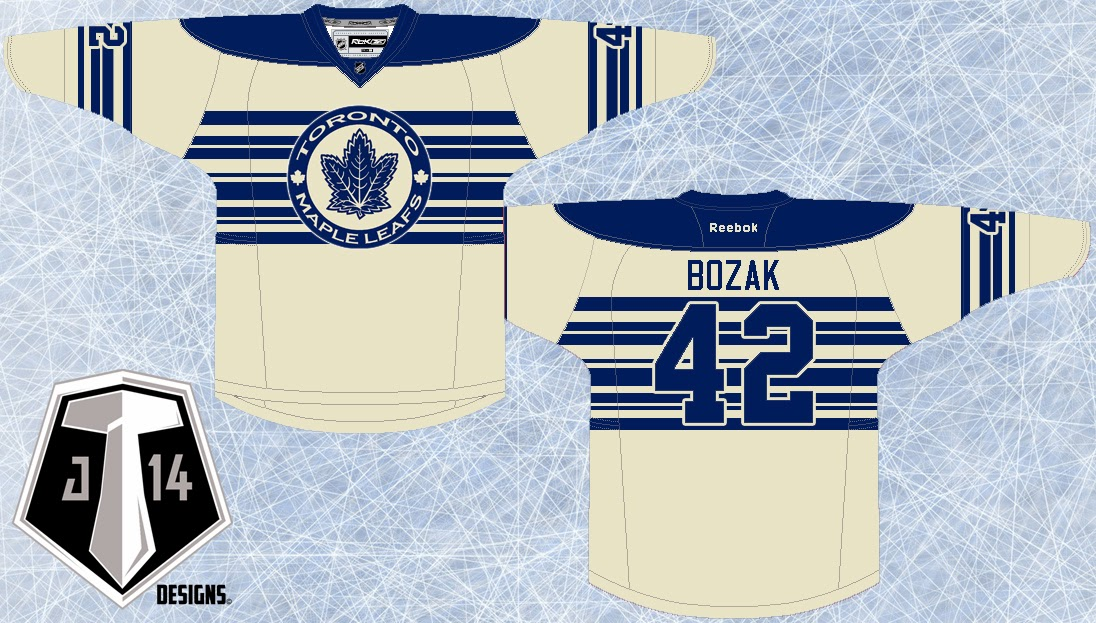 New Toronto Maple Leafs 3rd Jersey  ecff931a7
