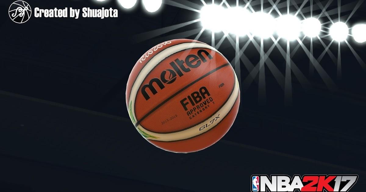 DNA Of Basketball   DNAOBB: NBA 2K17 Official Molten Ball by Shuajota