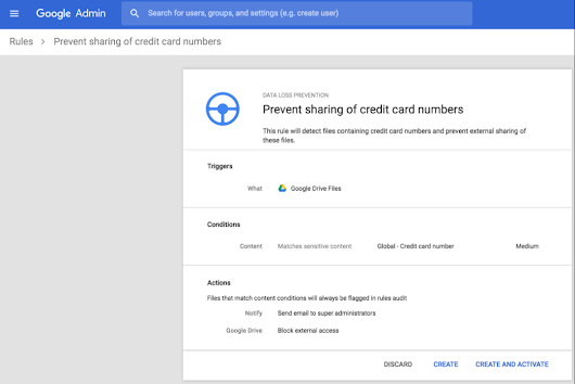 G Suite Update Alerts: Data Loss Prevention now available in Team Drives