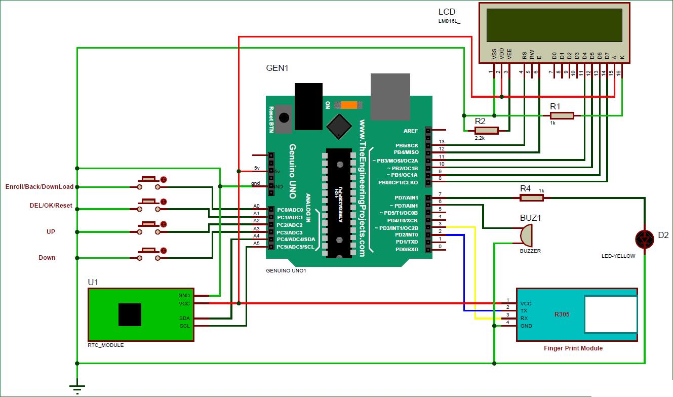Fingerprint Based Biometric Attendance System using Arduino