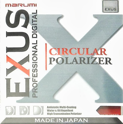 Marumi EXUS CPL filter cover