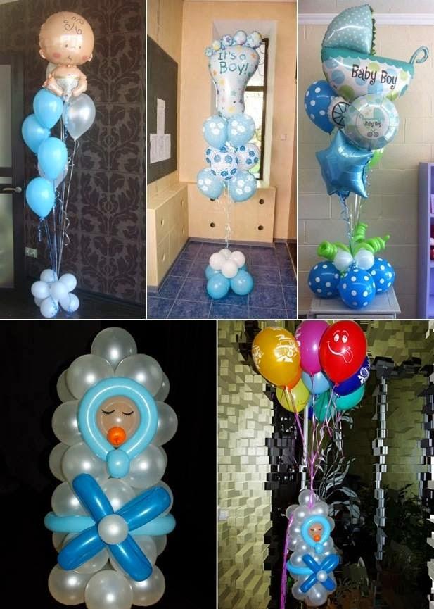 Baby Shower Balloon Ideas Interior Design