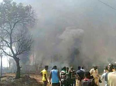 gas explosion kills welder damaturu yobe