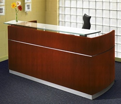 Napoli Reception Desk NRSBB by Mayline