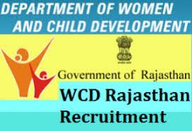 WCD Rajasthan Recruitment