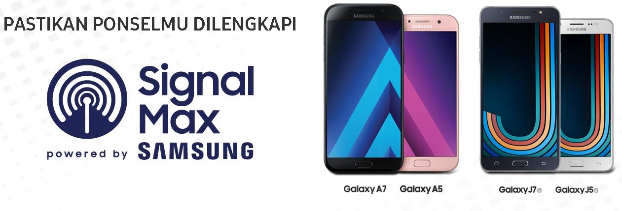 Harga Samsung A dan J series Signal Max