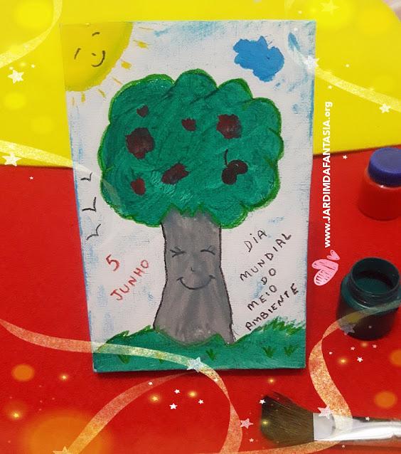Atividade semana do Meio Ambiente- Traços, sons, cores e formas