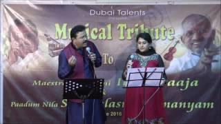 SPB 50 songs Video Collage to celebrate SPB 50 show in Dubai