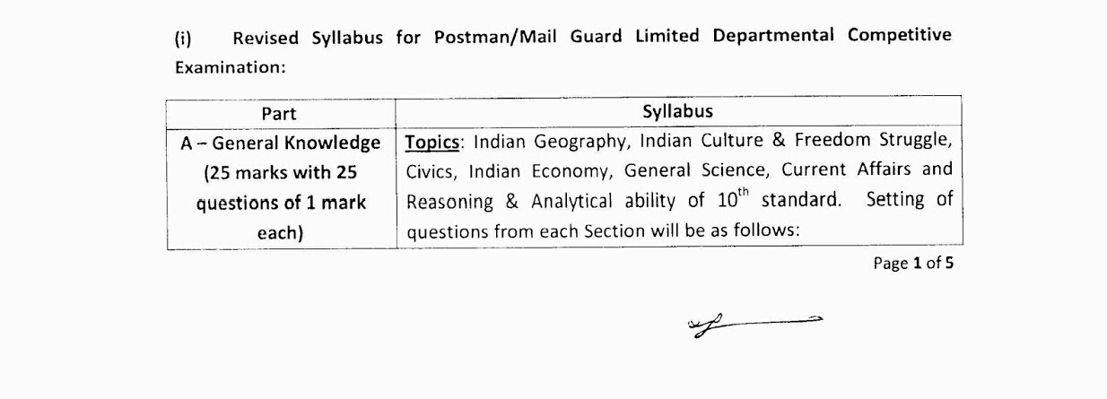 INDIA POST GDS to MTS Exam and GDS to POSTMAN Exam and GDS to PA