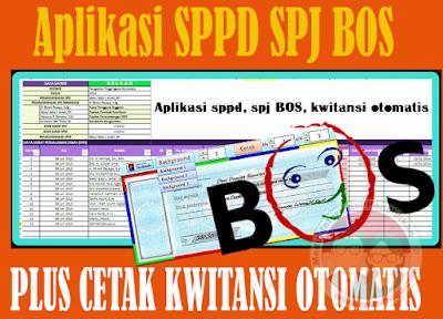 Download Aplikasi SPJ SPPD BOS 2017 Dilengkapi Cetak Kwitansi