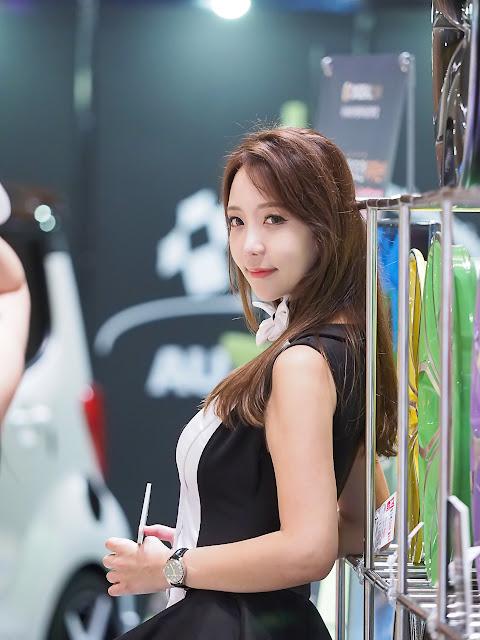 3 Song Da Mi - Seoul Auto Salon - very cute asian girl-girlcute4u.blogspot.com