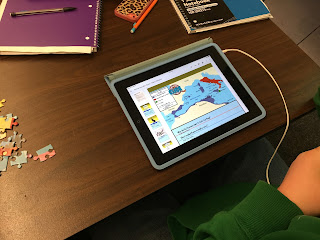 How can you use technology to do stations in secondary education? Easy! This simple Station-Rotation model, which is very much like what is commonly use in elementary schools, is a great way to incorporate at least one digital station while getting your students moving and practicing different skills.