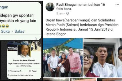 Provokator Diduga Penyorak Anies-Sandi Saat Open House Jokowi Akhirnya Terungkap