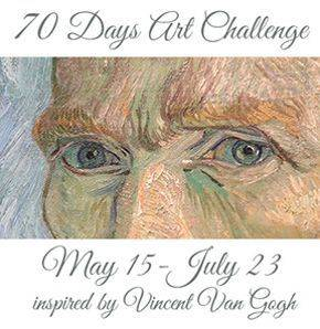 Kelly Hoernig's 70 day art challenge