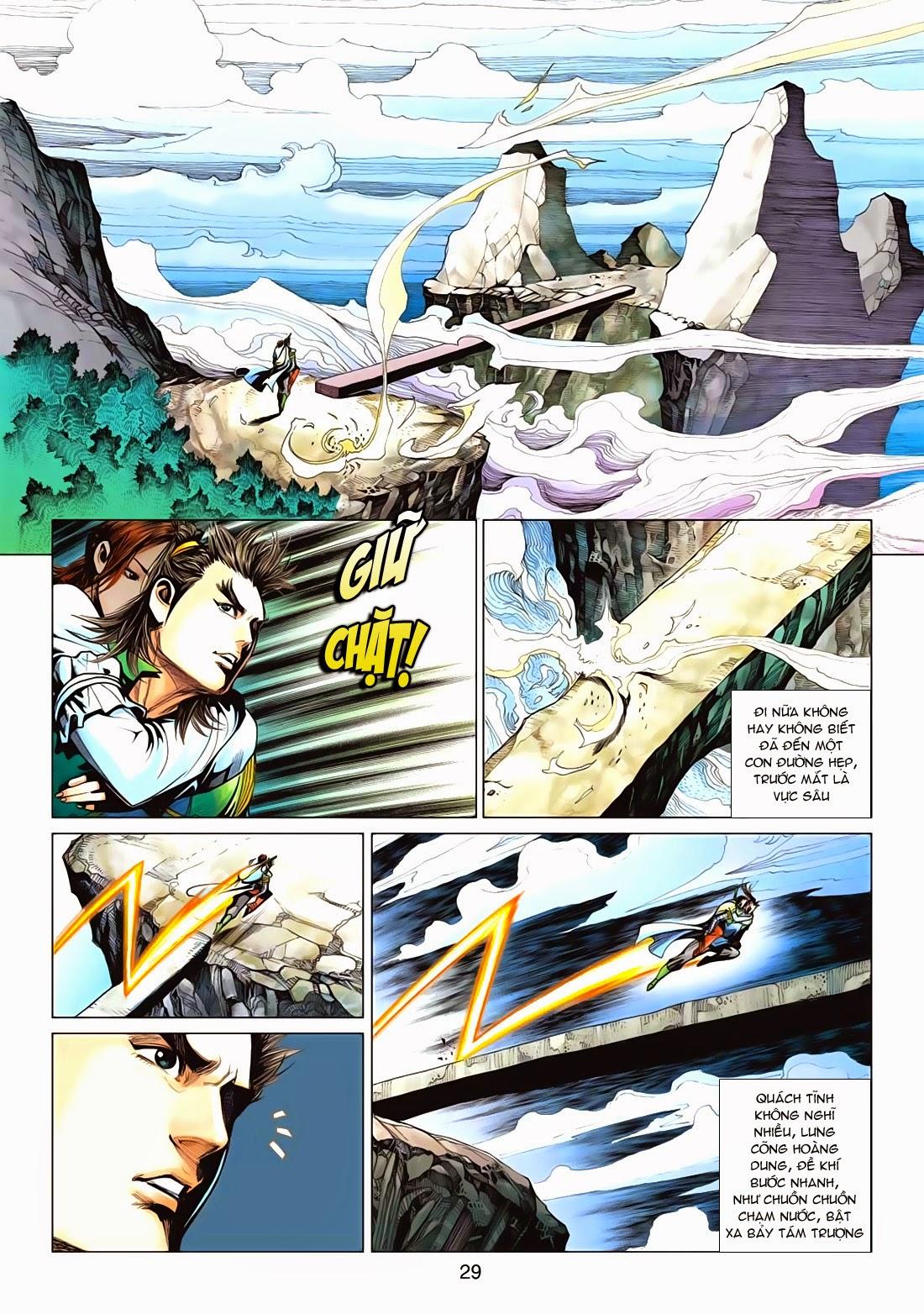 Anh Hùng Xạ Điêu anh hùng xạ đêu chap 72: ngư tiều canh độc trang 29