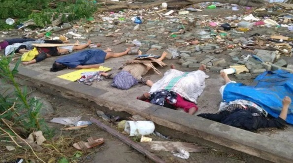 Tsunami : Jumlah Kematian Meningkat Lebih 400 Orang, Amaran Ribuan Mayat Lagi Akan Dijumpai