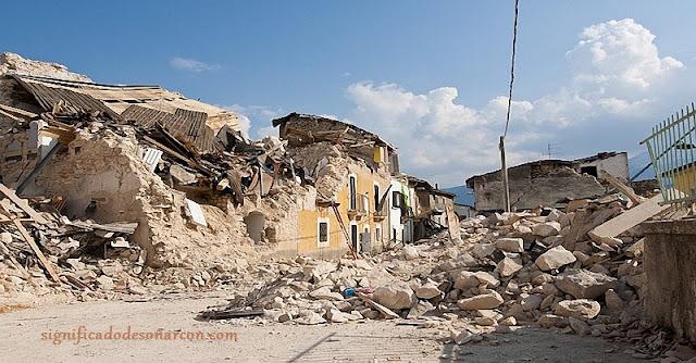 soñar con terremotos