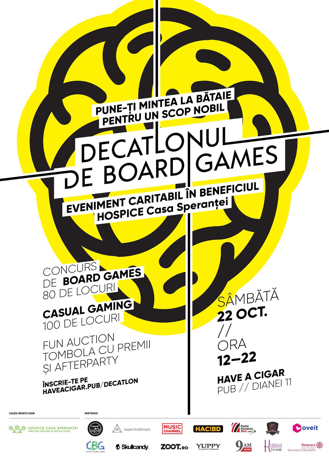 Decatlon de board games, organizat pentru copiii de la centrul Hospice Casa Sperantei - Mirros PR - Silviu Pal Blog