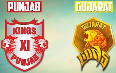 Match 26 : Gujarat Lions (GL) vs Kings XI Punjab (KXIP)
