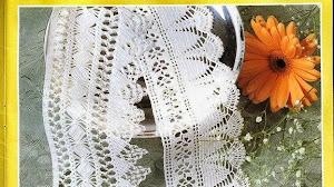 2 patrones de puntillas delicadas crochet