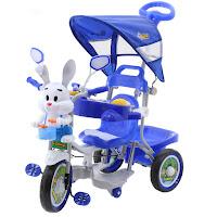 family kelinci pesawat musik dobel tricycle