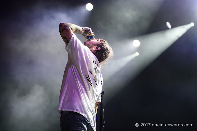 Post Malone at The Portlands for NXNE on June 23, 2017 Photo by John at One In Ten Words oneintenwords.com toronto indie alternative live music blog concert photography pictures photos