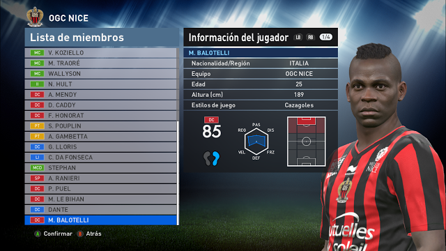 PES 2016 PTE Patch 6.0 All Transfers Option File Update September 2016 By TeKo