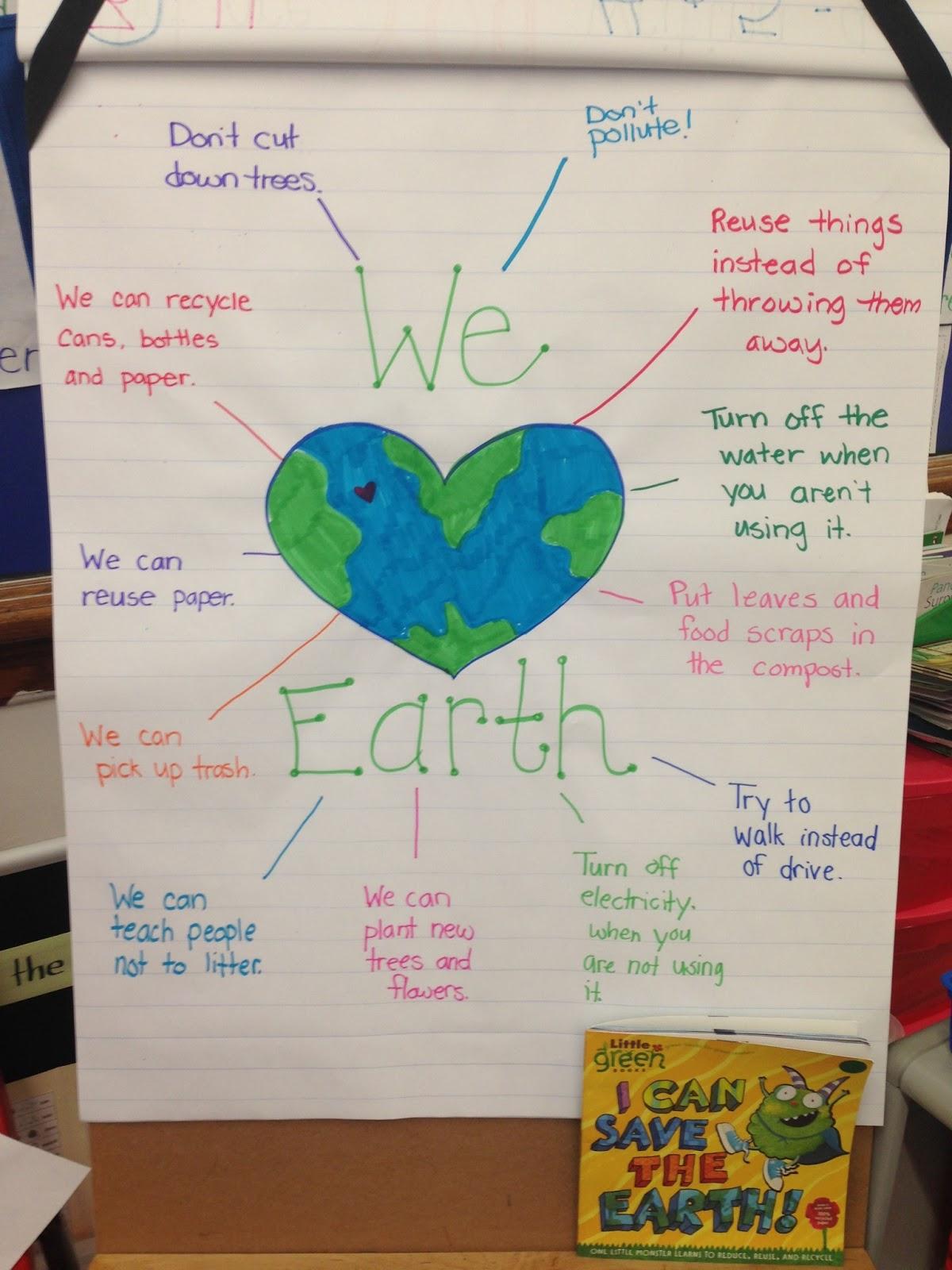Mrs Mirisola S First Grade Earth Week