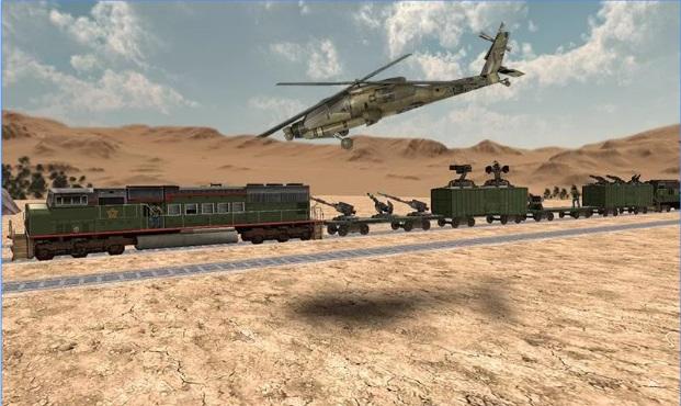 لعبة الهجوم على القطار