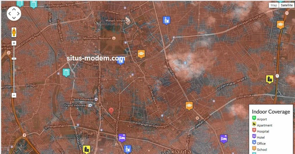 Inilah Wilayah Jangkauan Sinyal Bolt Yang Diperluas di Jabodetabek