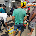 Mototaxista fica ferido após se envolver em acidente com caminhonete na BR 230