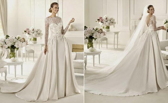 baju pengantin mewah