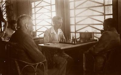 1935 - Partida de ajedrez de un campeonato social