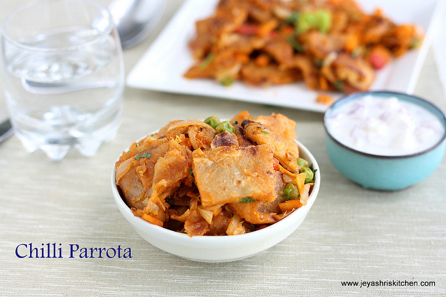 Chilli parotta recipe