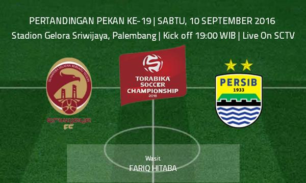 Sriwijaya FC vs Persib TSC 2016