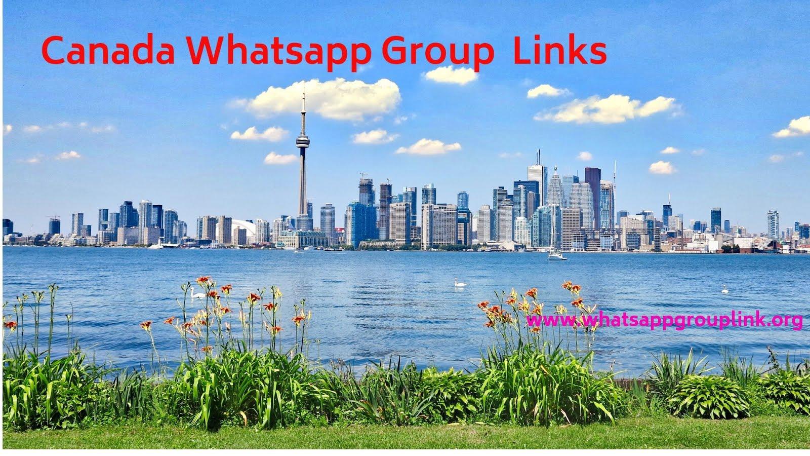 Whatsapp Group Link: Canada Whatsapp Group Links