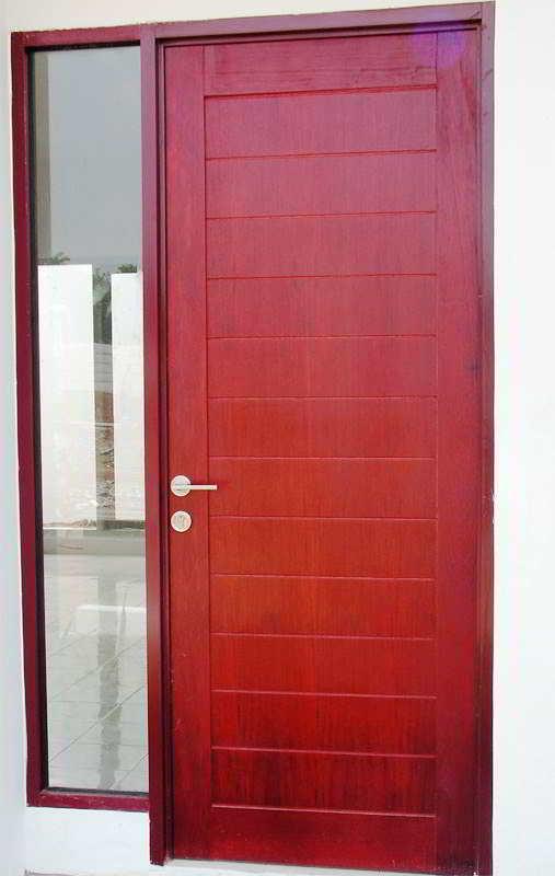 Desain Pintu Utama Rumah Minimalis dan Mewah