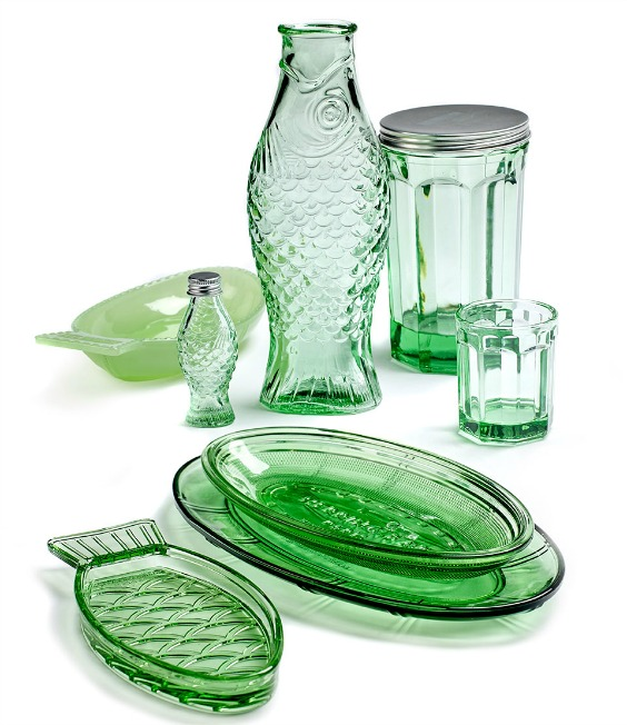 Collection de vaisselle Fish & Fish par Paola Navone
