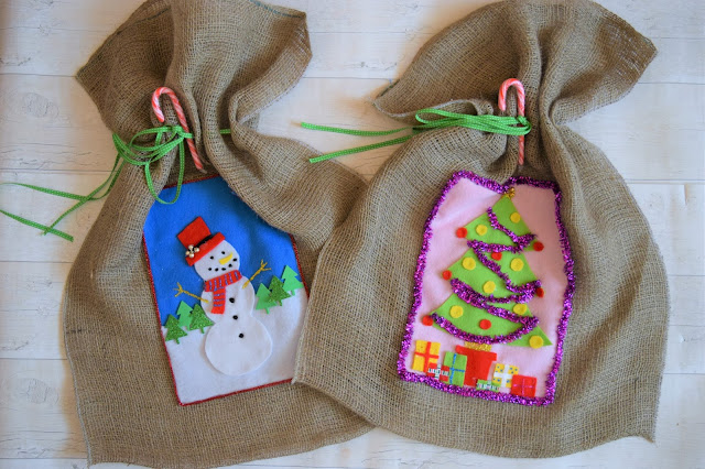 What Cat Says - DIY Christmas Craft | Christmas Sack Stocking